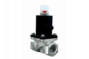 Клапан запорный с электромагнитным управлением газовый КЗЭУГ-А