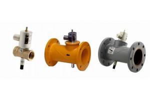 Клапан запорный газовый с электромагнитным приводом КЗГЭМ-У