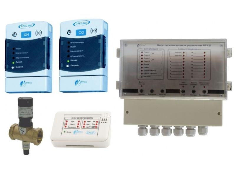КЗГЭМ-У клапан запорный газовый электромагнитный (к САКЗ-МК)
